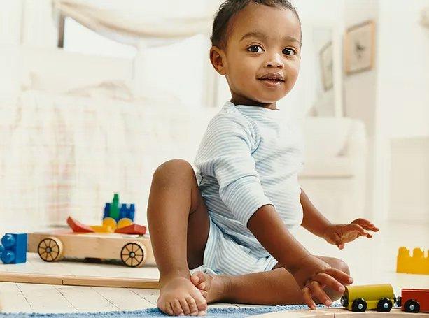 infant at preschool