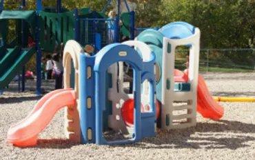 outdoor playground at preschool