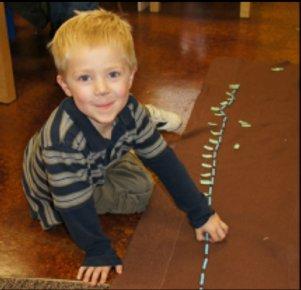 preschooler counting