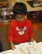 tarun reading at preschool