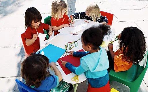the arts at preschool